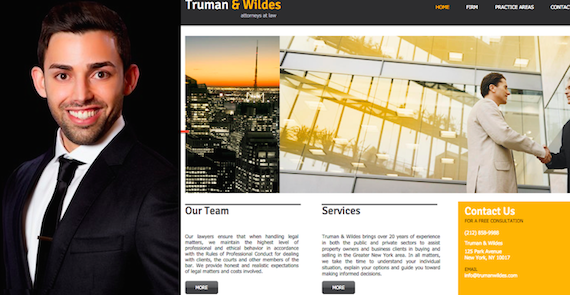 Raphael Toledano may have ties to Truman & Wildes, a bogus real estate law firm