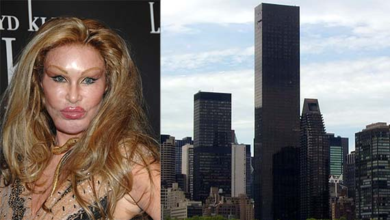 Jocelyn Wildenstein and Trump World Tower