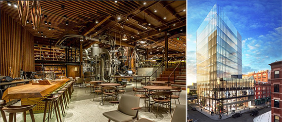 Starbucks Roastery New York 860 Washington Street Nyc