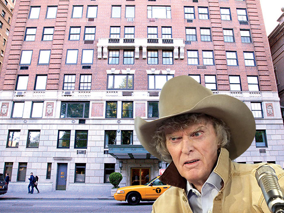 Don Imus and 75 Central Park West