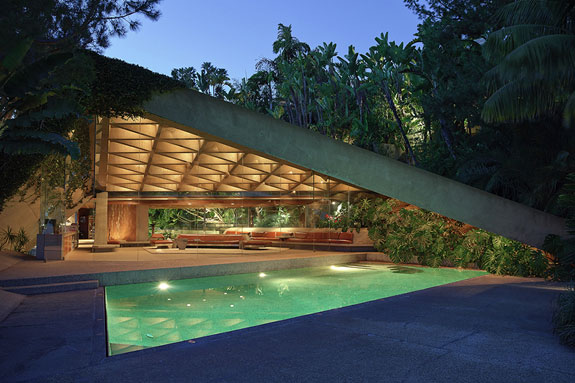 """Jackie Treehorns house from """"The Big Lebowski"""""""
