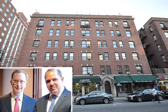 1104 Lexington Avenue on the Upper East Side (inset, from left: William and Rick Friedland)