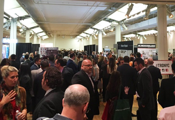 The Metropolitan Pavilion during The Real Deal's New York Real Estate Showcase and Forum (Credit: @ImageNJ on Twitter)