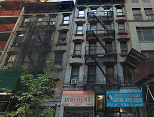 317 - 319 West 35th Street in Midtown (credit: Google)