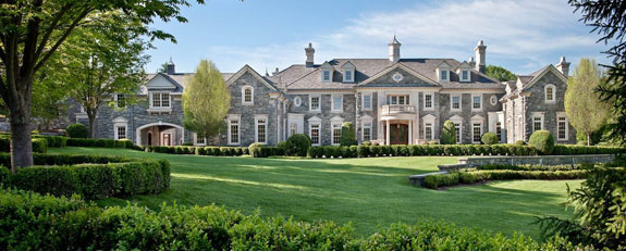 A massive home in New Jersey