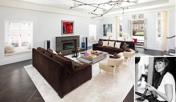 3 East 95th Street (inset: Tamara Mellon)