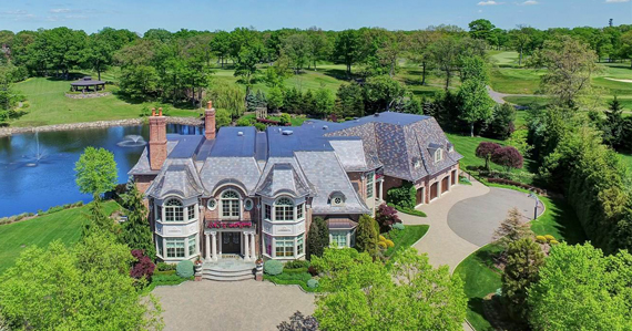 An estate at 220 Vaccaro Drive in Alpine listed by Prominent Properties Sotheby's International.