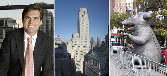 Willaim Gilbane, 1 Wall Street and a giant inflatable rat