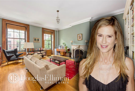Holly Hunter and her former Greenwich Village apartment (photo credit: David Shankbone via Wikipedia)