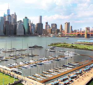 Rendering of One°15 Brooklyn Marina