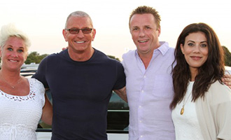Celebrity chefs at a Dan's Hamptons event (credit: Dan's Taste of Summer)