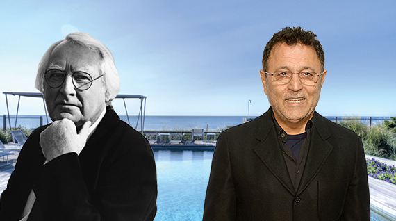Richard Meier, Elie Tahari and the view from an oceanfront home in Sagaponack