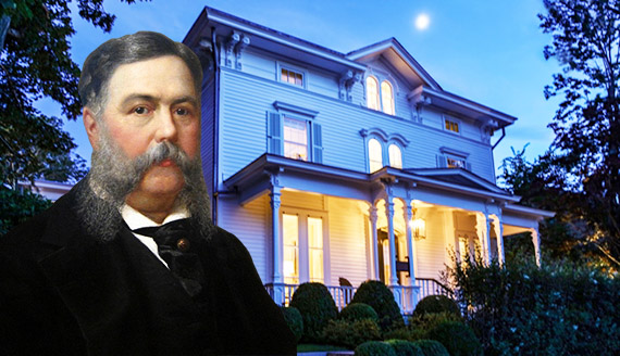 Chester A. Arthur and his old summer house at 20 Union Street