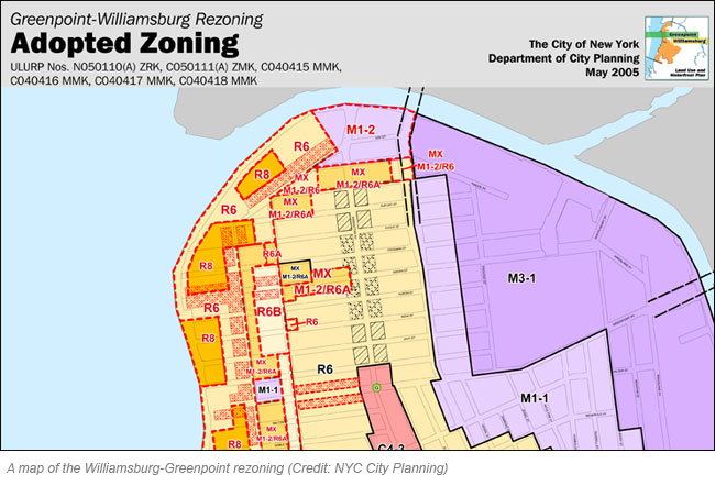 WilliamsburgGreenpointRezoning