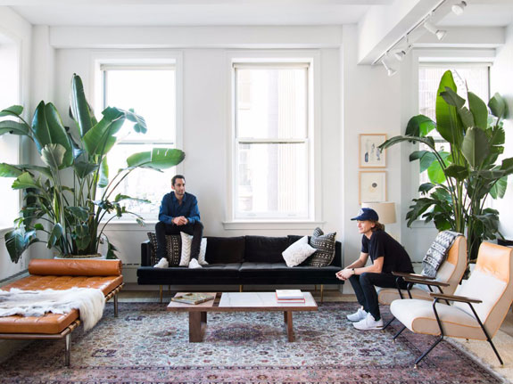 Inside the Sweetgreen cofounders' home.(credit: Claire )Esparros/Homepolish