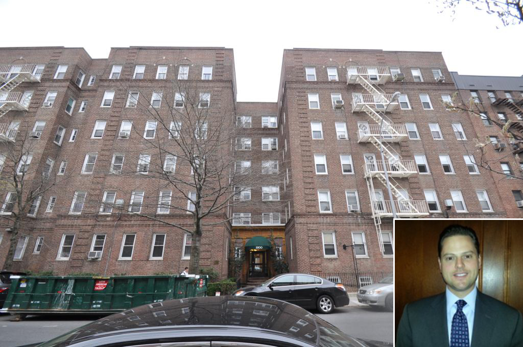 3300 Netherland Avenue in the Bronx (inset: Adam Parkoff) (credit: YJP New York)