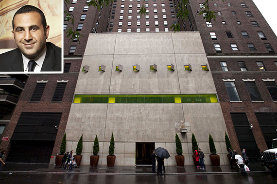 10/07/13 Exterior, Hudson Hotel, 356 west 58th street, Manhattan. NY Post Brian Zak