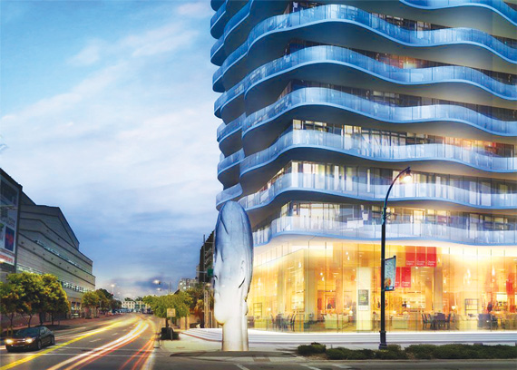Rendering of Auberge Miami