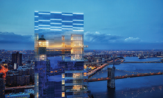 A rendering of 1 Seaport