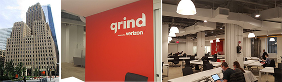 140 West Street and the coworking space Grind