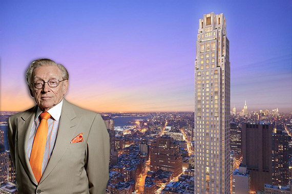 Larry Silverstein and 30 Park Place