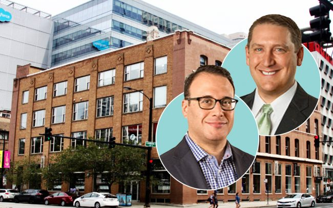 Elmdale Partners Principals Adam Freeman (left) and Thomas Bretz (right) with  435 North LaSalle