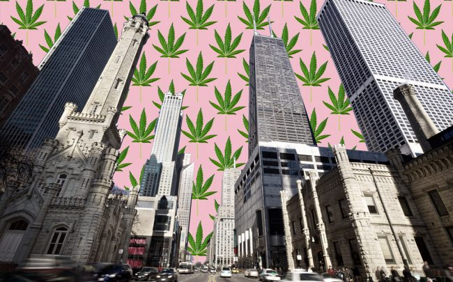Marijuana dispensaries are eyeing the Magnificent Mile and other high-profile retail strips. (Credit: iStock)