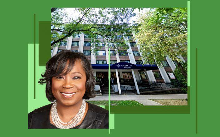 Complete Care CEO Dr. Cheryl Rucker-Whitaker and 4920 N Kenmore Avenue (The Chicago Network, Google Maps)