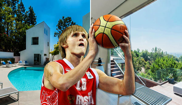 Wildfire destroys Bel Air home of former NBA player Andrei Kirilenko