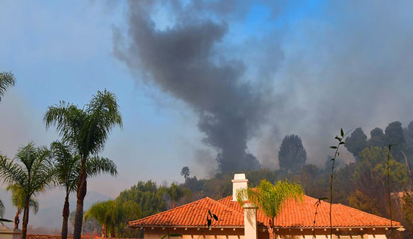 Multimillion-dollar Bel Air homes obliterated by LA wildfire