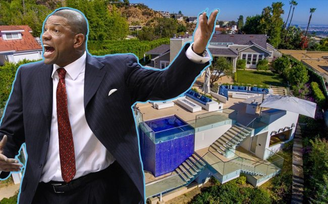 Doc Rivers and his Bird Street home (Credit: Keith Allison Flickr)