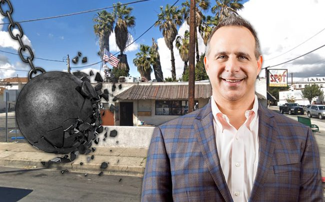 The Spot at 2139 South Pacific Avenue and Adam O'Neill, president of Square One Homes, LLC, and Stonebridge Real Estate Group Inc. (Credit: Google Maps, iStock)