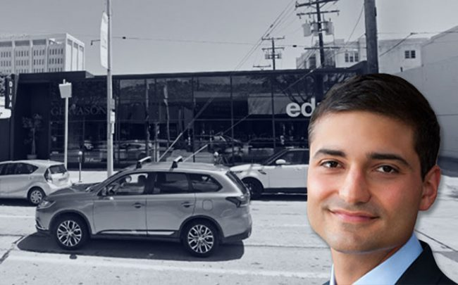 Jason Illouian and the property (Credit: Faring Capital and Google Maps)