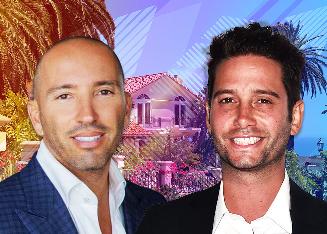 Jason Oppenheim and Josh Flagg (Credit: Alberto E. Rodriguez/Getty Images and iStock)