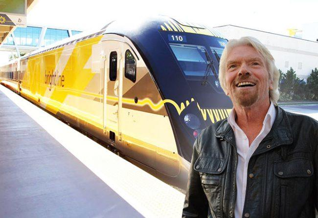 Virgin Trains USA formed by Virgin Group and Brightline