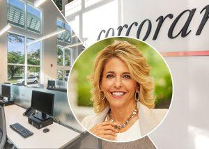 Corcoran's new office and Pam Liebman