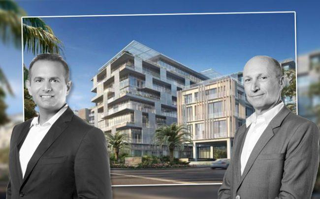 Ricardo DuninRitz and Ophir Sternberg with the Carlton Residences, Miami Beach