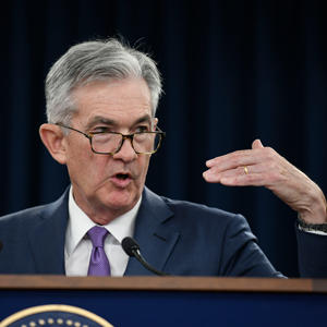 Federal Reserve Board chairman Jerome Powell (Credit: Getty Images)