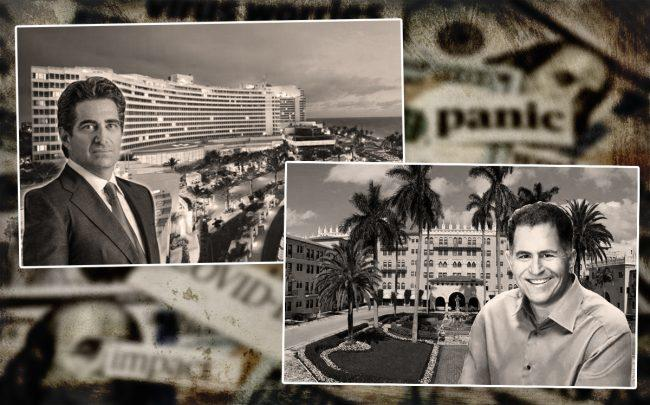 Jeffrey Soffer with the Fontainebleau and Michael Dell with the Boca Raton Resort & Club