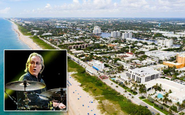 Max Weinberg and Delray Beach (Credit: Sergione Infuso/Corbis via Getty Images)