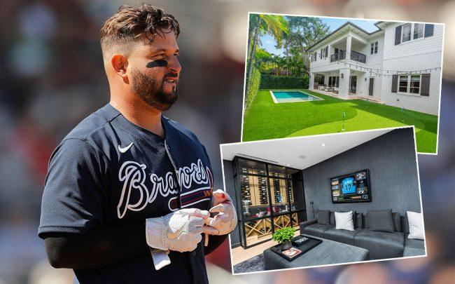 Yonder Alonso and7263 Southwest 53rd Court (Getty)