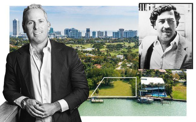 Jarrett Posner, Pablo Escobar with 5860 North Bay Road (The Waterfront Team)