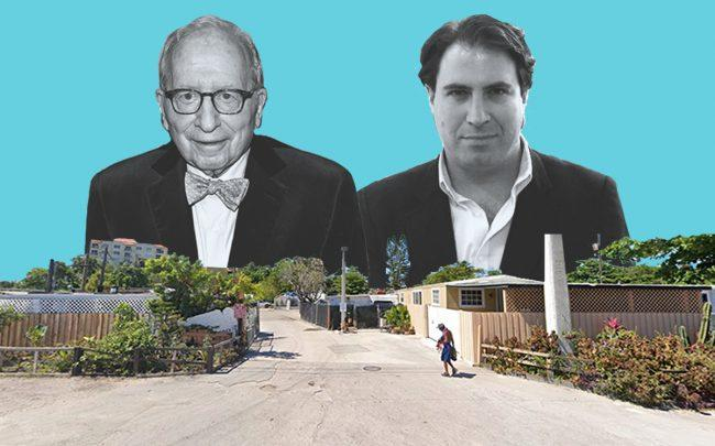 William Zabel and Alexandre Leviant with2750 Northwest South River Drive (Getty, Linkedin, Google Maps)