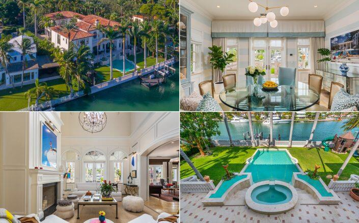 1401 West 27th Street on the Sunset Islands (The Jills – Photography by Luxhunters)