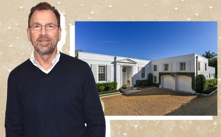 Edgar Bronfman Jr. and his Palm Beach home (Getty, 200 Regents / Sotheby's)