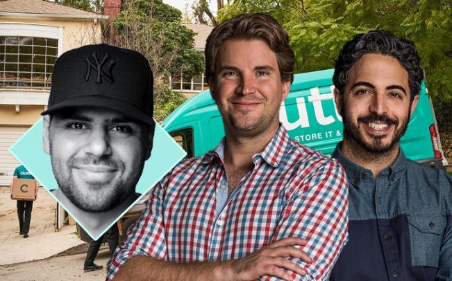Omni founder Thomas McLeod and Clutter co-founders Brian Thomas and Ari Mir