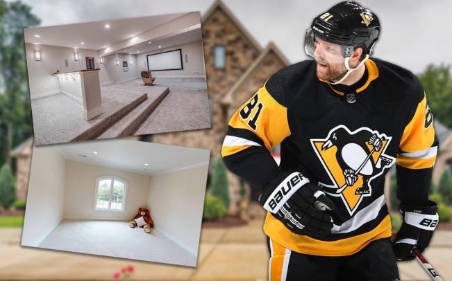 Phil Kessel's Pittsburgh home is on the market (Credit: Getty Images, Realtor)