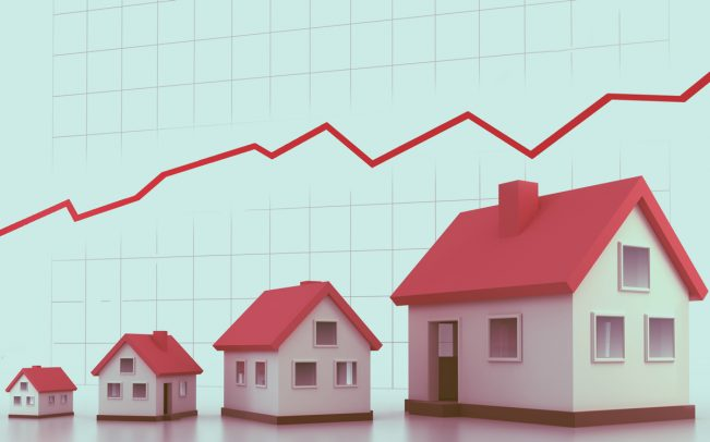 With growing fears of a recession, real estate stocks continue to hold their own. (Credit: iStock)