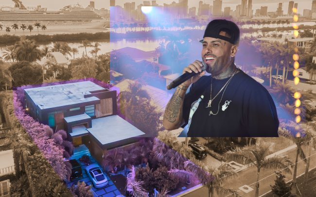 Nicky Jam and his Miami Beach home (Getty, Prestige Realty Group)