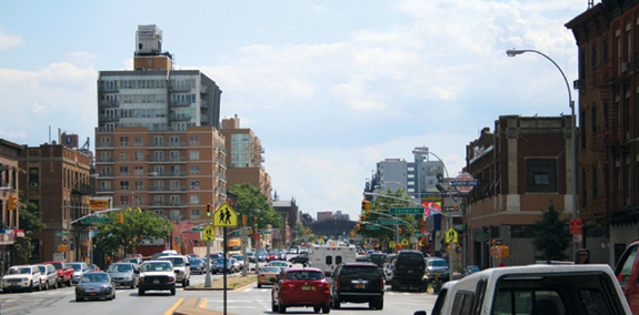 Fourth Avenue in Park Slope